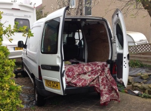 My oh so lovely old van x