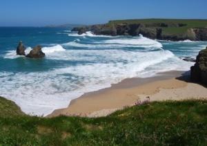 Porthcothan  bay Cornwall