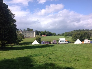 Great Fulford from our camp