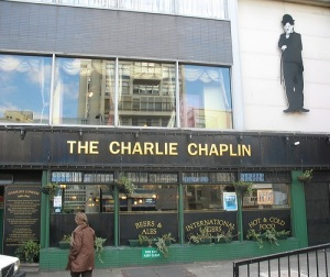 The Charlie Chaplin pub in the Elephant and Castle. Only Brian knows the truth x